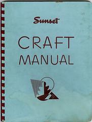 1946 Sunset Craft Manual