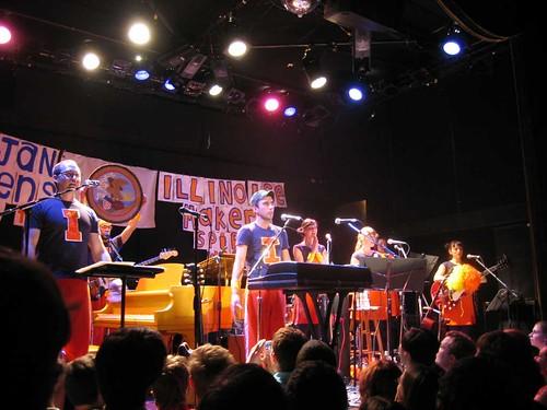 Sufjan Stevens + Smoosh - Bowery Ballroom, 8.19.05