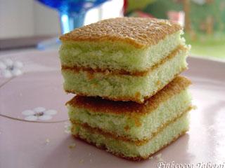 Apollo Pandan Layer Cake - Stack