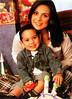 Silvia y su hijo Pablo