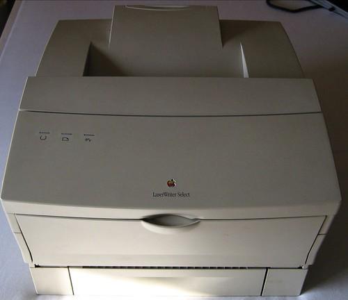 Apple Laserwriter Select 360 (16MB RAM upgrade) - front | by Hugo_s