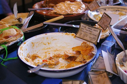 Chicken, Chorizo and Red Pepper Pie