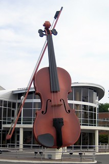 The Big Fiddle Sydney Nova Scotia   by Bobcatnorth