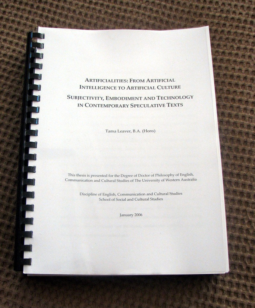 Doctor thesis dissertation
