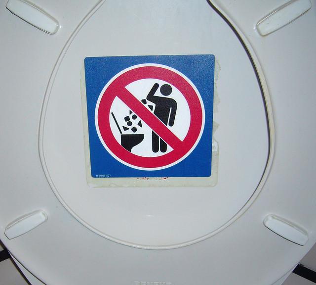 WARNING: Attack Toilet!