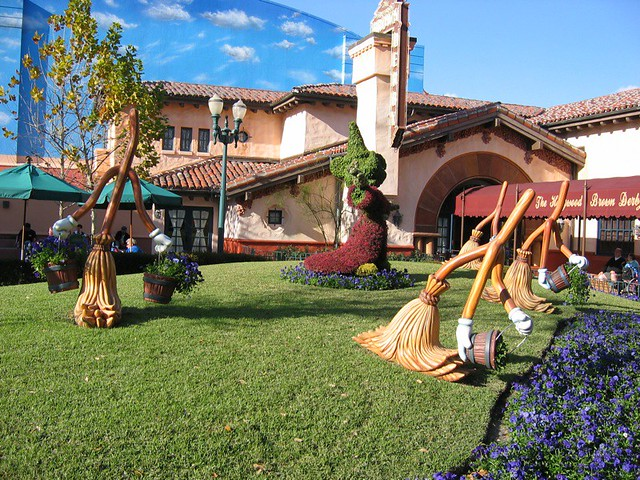 Hollywood Brown Derby and Fantasia Brooms
