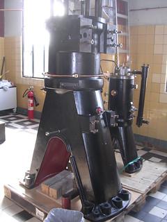 First Holeby diesel engine built 1910
