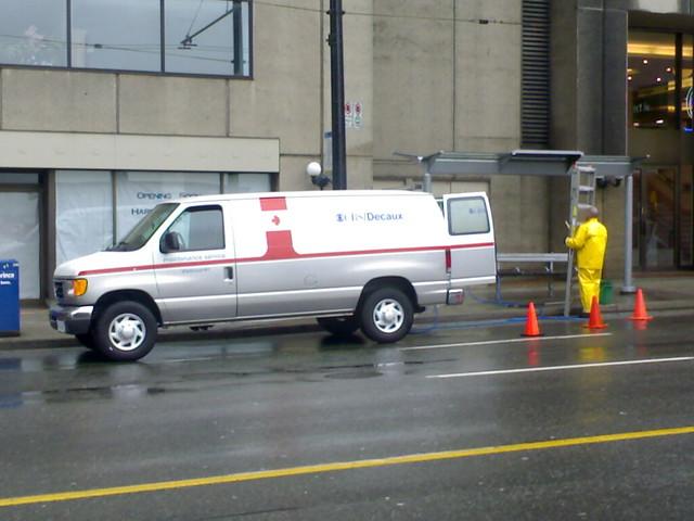 CBS/Decaux Bus Shelter Maintenance