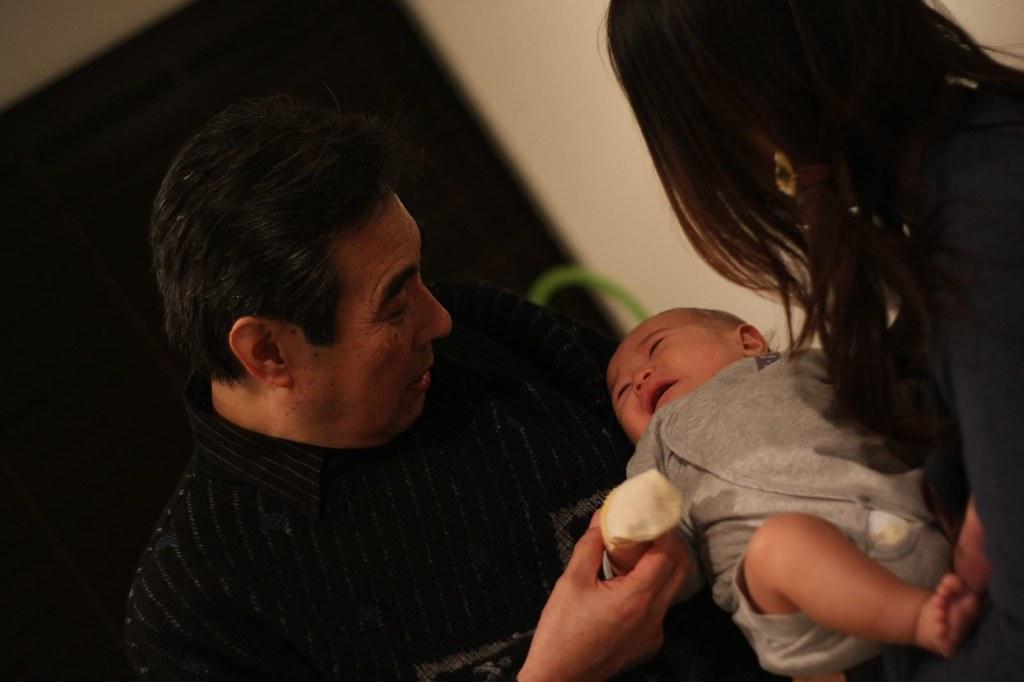 yuzu and grandpa masa