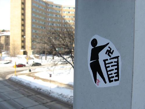 [throw away nazis] | by david drexler