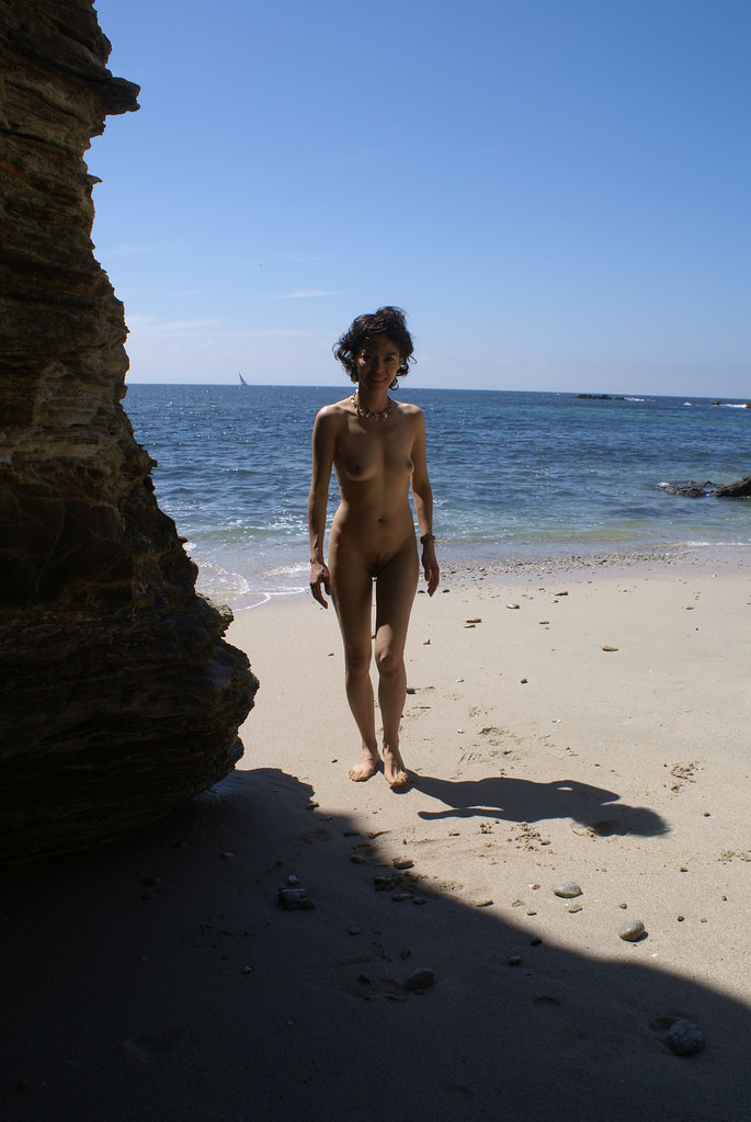 nude beach mexico nudist girl exhibitionist model