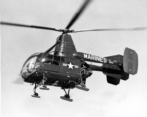 Kaman : UH-43C (HOK-1) : Huskie | by San Diego Air & Space Museum Archives