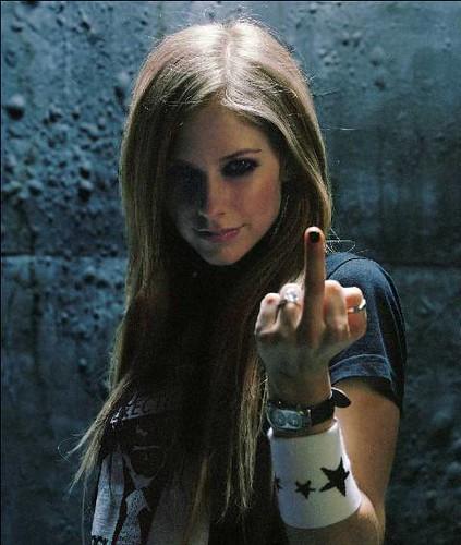 Finger dirty Avril lavigne