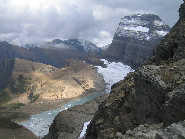 Mount Gould And Grinnell Glacier
