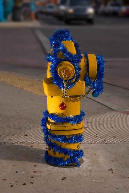 Happy Hydrant? Festive Fire......?