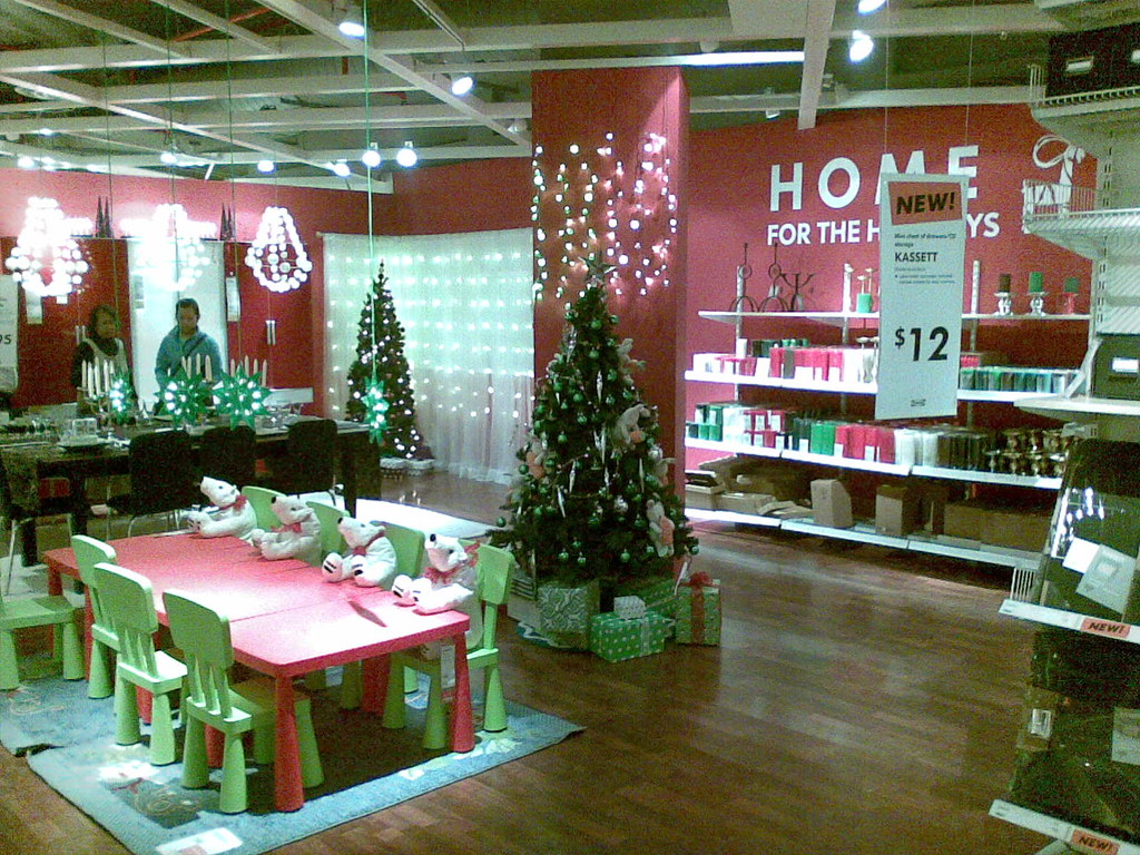 Singapore Ikea (Alexandra) Christmas display :) | Uploaded f