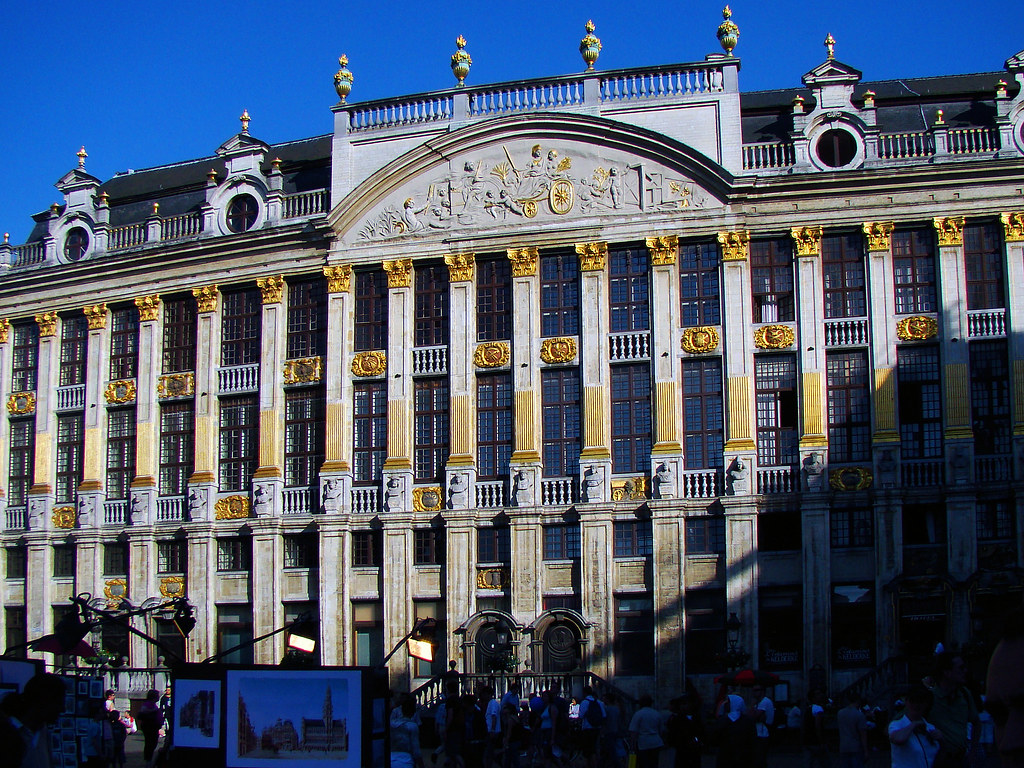 Brussels, Belgium 101 - Market place - House of Dukes of Brabant by Claudio.Ar