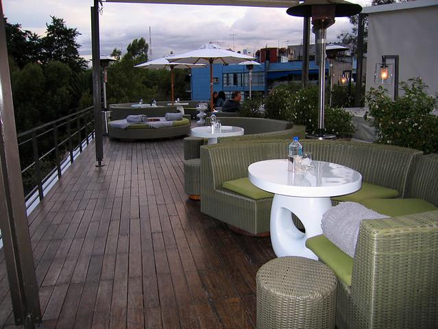 Hotel Condesa Df En La Terraza Olga Cifuentes Flickr