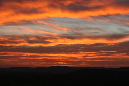 orange mountain sunrise canon eos rebel 50mm valley aftonmountain xti