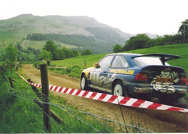 Malcolm Wilson - Escort RS Cosworth