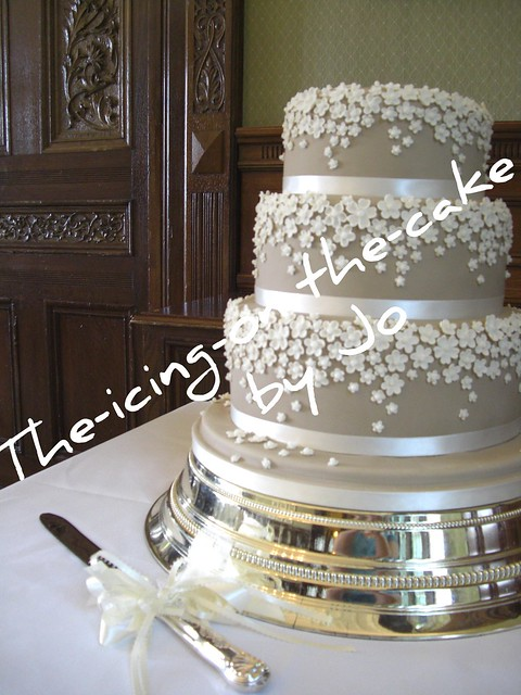 Sarah & Anthony's Wedding Cake