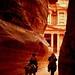 Jordan - Petra - The Treasury - El-Khazneh by © Lucie Debelkova / www.luciedebelkova.com