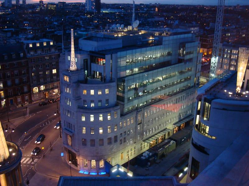 BBC Broadcasting House Portland Place