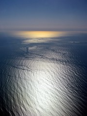 the Atlantic, from 30 000 feet up