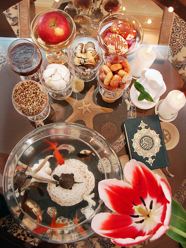 red fish apple coral angel festive happy mirror coin candle goldfish iran starfish turtle egg eid 7 persia s newyear sumac celebration seven sin tulip garlic greenery iranian seen ایران 87 quran norooz norouz nowrooz nowruz noruz عید هفت سین nowrouz عيد ايران نوروز oleaster 1387 سفره samano haft sumaq wheatgerm senjed somagh سين