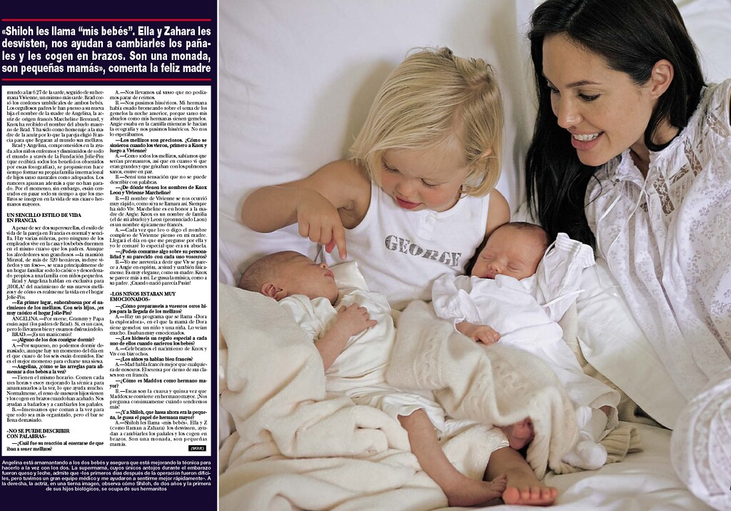 Angelina Jolie ,kids and twins by hollywoodkids blog com