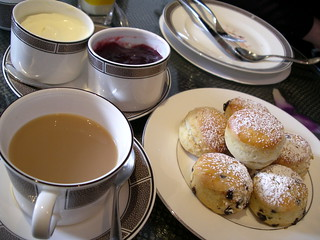 Cream tea | by Phil Gyford