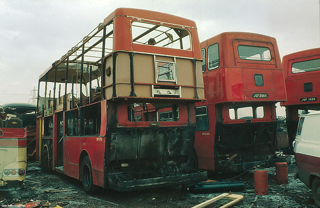 7 years old and on the scrap heap! | Former London Transport… | Flickr