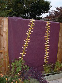 skyline quilt   by the laurisons