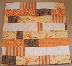 Orange / Yellow Joel Dewberry Quilt: Front | by KrisV