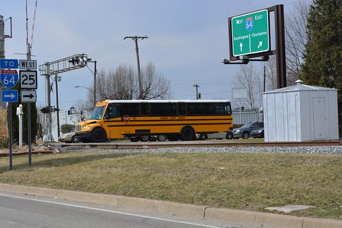 Kanawha County Schools bus 802 | by winbag4 Stephen Wingate