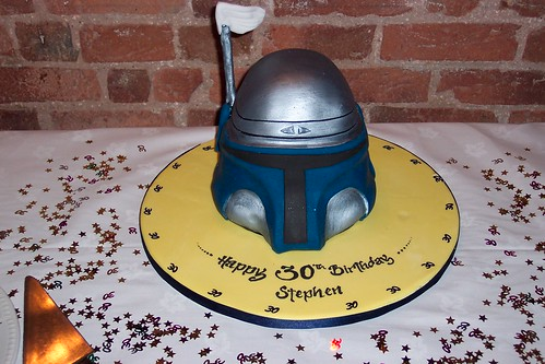 Jango Helmet Birthday Cake | by THEREALGINGERPRINCE