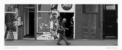 man walking down the portobello road | by delroy.beaton