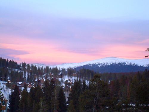 winter sunset sky mountain snow mountains colorado winterpark picturesque superbmasterpiece