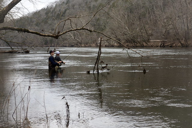 Fishermen, Caney Fork River, Smith County, Tennessee