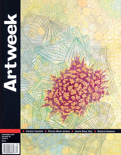 Amanda Hughen - Artweek Cover