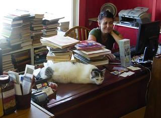 Cynthia and Cat - Talk Story Bookstore | by brewbooks