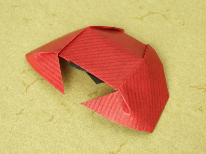 Step By Step Instructions How To Make Origami Crab. Royalty Free ... | 600x800