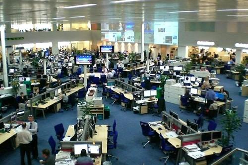 Telegraph newsroom   by antony_mayfield