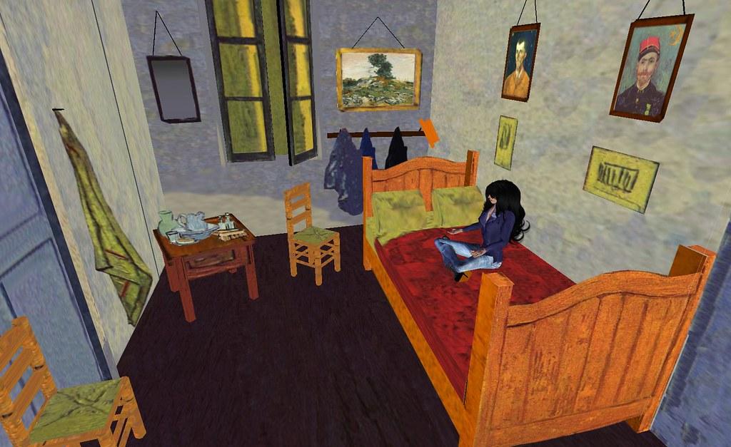 Second Life La Chambre De Van Gogh A Photo On Flickriver