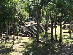 copan ruins where the upper class lived