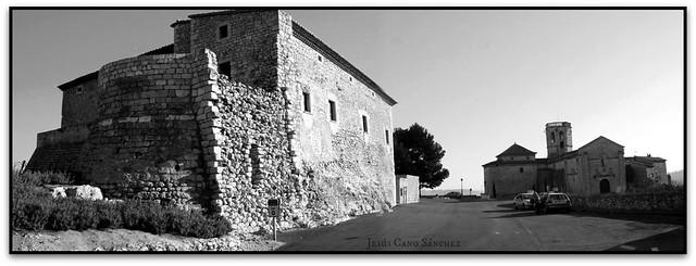 Castell i església de Santa Maria, Sant Martí Sarroca (l'Alt Penedès)