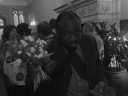 Ian not too pleased to have caught the bouquet | by The Kitten's Toe