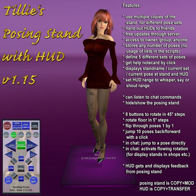 Tillie's Posing Stand with HUD v1.15