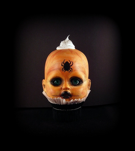 Creepy Crawly Cupcake Kid