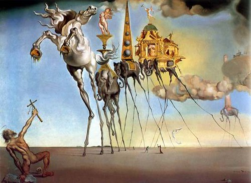 Dali_Temptation of St Anthony